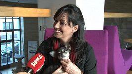 Terezu Brodskou udržují ve formě její psi.