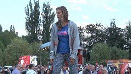 Eva Samková, olympijská vítězka