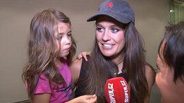 Petra Faltýnová s dcerou