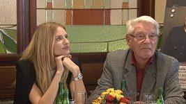 Linda Vojtová pořádá koncert pro svého dědečka.