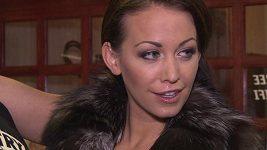 Agáta Prachařová, modelka