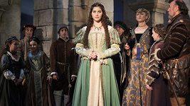 Role princezny v pohádce Láska na vlásku zpěvačce sedí.