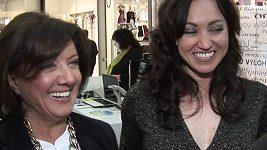 Marie Rottrová a Tamara Rottrová