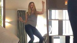 Linda Vojtová tančí