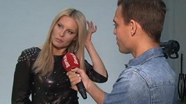 Simona Krainová se nerada vidí v úloze herečky.