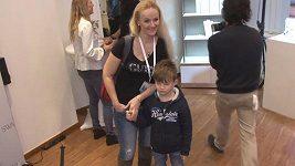 Linda Finková se pochlubila synem Matyášem.