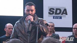 Václav Noid Bárta na motovýstavě