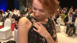 Berenika Kohoutová tetovani oprava