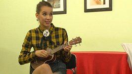 Michaela Doubravová - ukulele