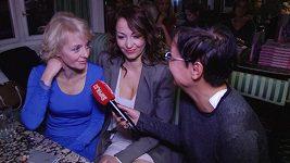 Agáta Hanychová a Veronika Žilková