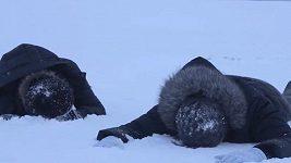 Two Voices Trio si dokáže udělat legraci z čehokoliv. I ze sněhové nadílky.