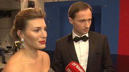 Jaroslav Plesl a Lenka Krobotová