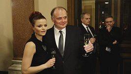 Igor Bareš s manželkou - Český lev