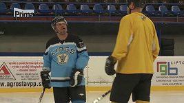 Pohlreich hraje hokej