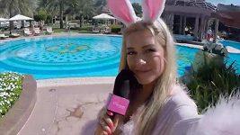 Dominika Myslivcová tráví Velikonoce ve Spojených arabských emirátech.