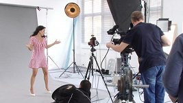 Heidi Janků - natáčení klipu