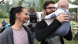 Sandra Nováková a Vojta Moravec o rodičovství