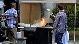V Karlových Varech hořelo...