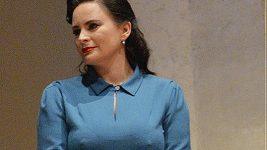Jitka Čvančarová měla na sobě dvakrát stejné šaty