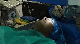 Aneta Vignerová - operace očí