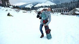 Monika Leová - lyžování a zimní sporty