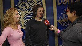 Ondřej Bank a Eva Krejčířová - před StarDance finále