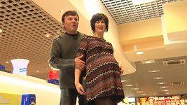 Monika Trávníčková a Pavel Trávníček
