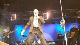 Karel Gott si podmanil publikum na slovenském festivalu Topfest.