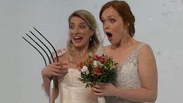 Dvě nevěsty a jedna svatba - focení plakátu