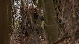 Monika Štiková v lese