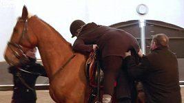 Charlotte - pád z koně