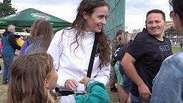 Tereza Skoumalová zběhla od modelingu na druhou stranu barikády.