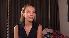 Modelka Loiza Lamers z Nizozemska hvězdou pražského průvodu hrdosti.
