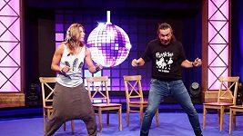 Ester Ledecká tančí v Partičce
