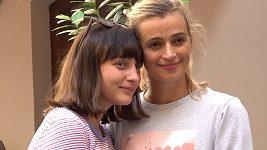 Ivana Jirešová a dcera