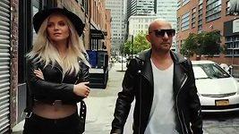 Verona natáčela klip k písni Parabola v New Yorku.