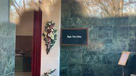 Pohřeb Petra Olivy