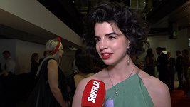 Antonie Formanová přijela na filmový festival do Karlových Varů.