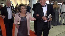 Jiřina Bohdalová na filmovém festivalu v Karlových Varech