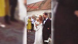 Zuzana Stráská se vdala.