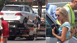Kateřina Brožová měla nehodu