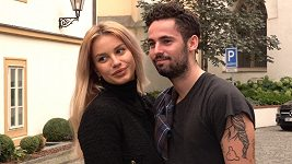 Matěj Dejdar s přítelkyní Sofiou