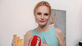 Iva Pazderková otevřeně o svém vzhledu.