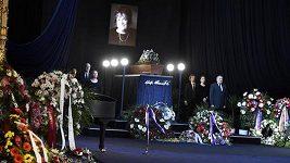 Záznam: Poslední rozloučení s Vlastou Chramostovou v Národním divadle