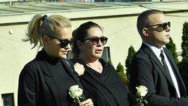 Pohřeb podnikatele Petra Vlasáka
