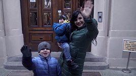 Andrea Kalivodová popřála manželovi Radkovi originálním dárkem.