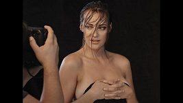 Klikněte a sledujte, jak vznikalo nejvíce sexy focení Sokolové v kariéře.