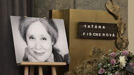 Táňa Fischerová pohřeb