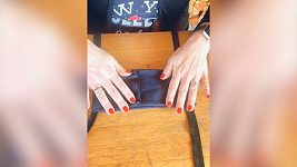 Výroba roušky bez šití