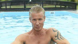 Robert Paulat u bazenu